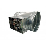 WIRED ELECTRIC HEATER 2.5KW 230V d.315mm ON CIRCULAR DUCT