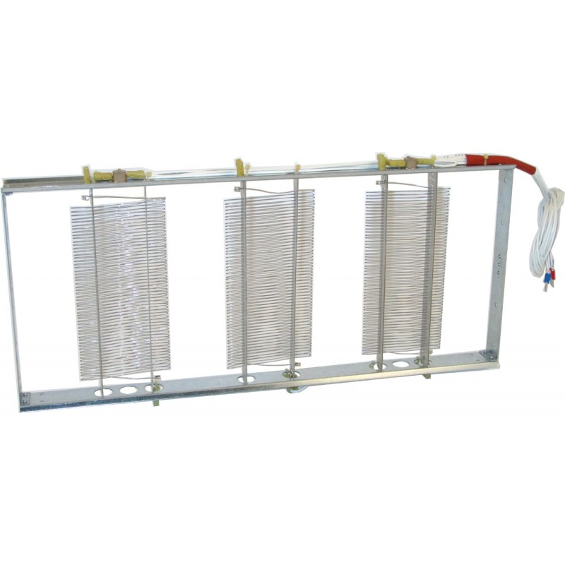 WIRE HEATER 6KW 400V-3 500x240 MOUNTED ON A FRAME
