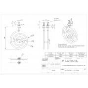 CIRCULAR TUBULAR HEATER 1000W 230V d.130mm